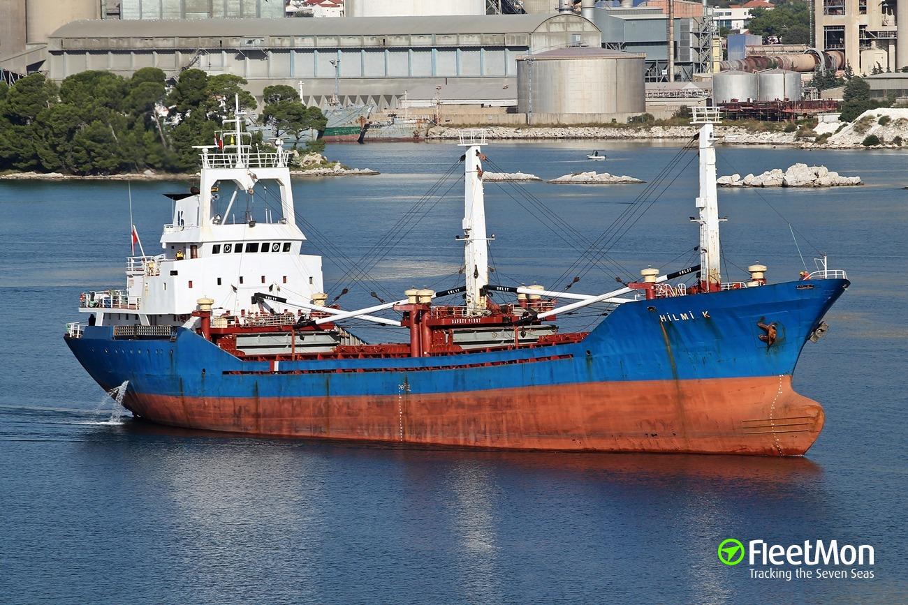 General cargo vessel HILMI-K grounding