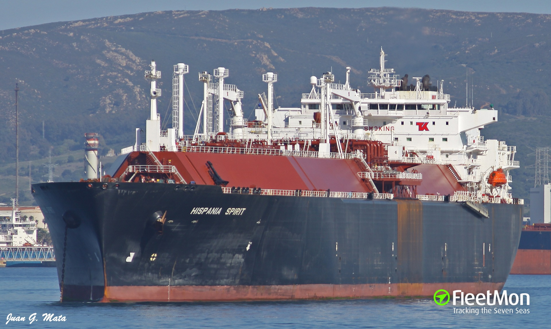 211 kg of cocaine found on VLGC Hispania Spirit, tanker detained, Peru