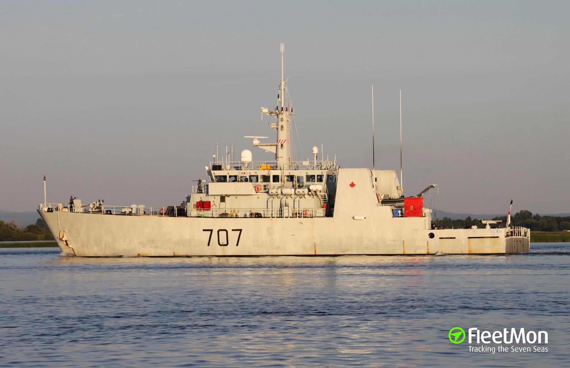 Canada Goose coats sale 2016 - HMCS GOOSE BAY (Patrol ship) IMO �C�C�C