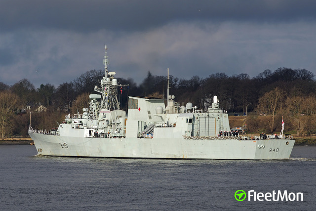 Vessel HMCS ST JOHNS (FFH 340)
