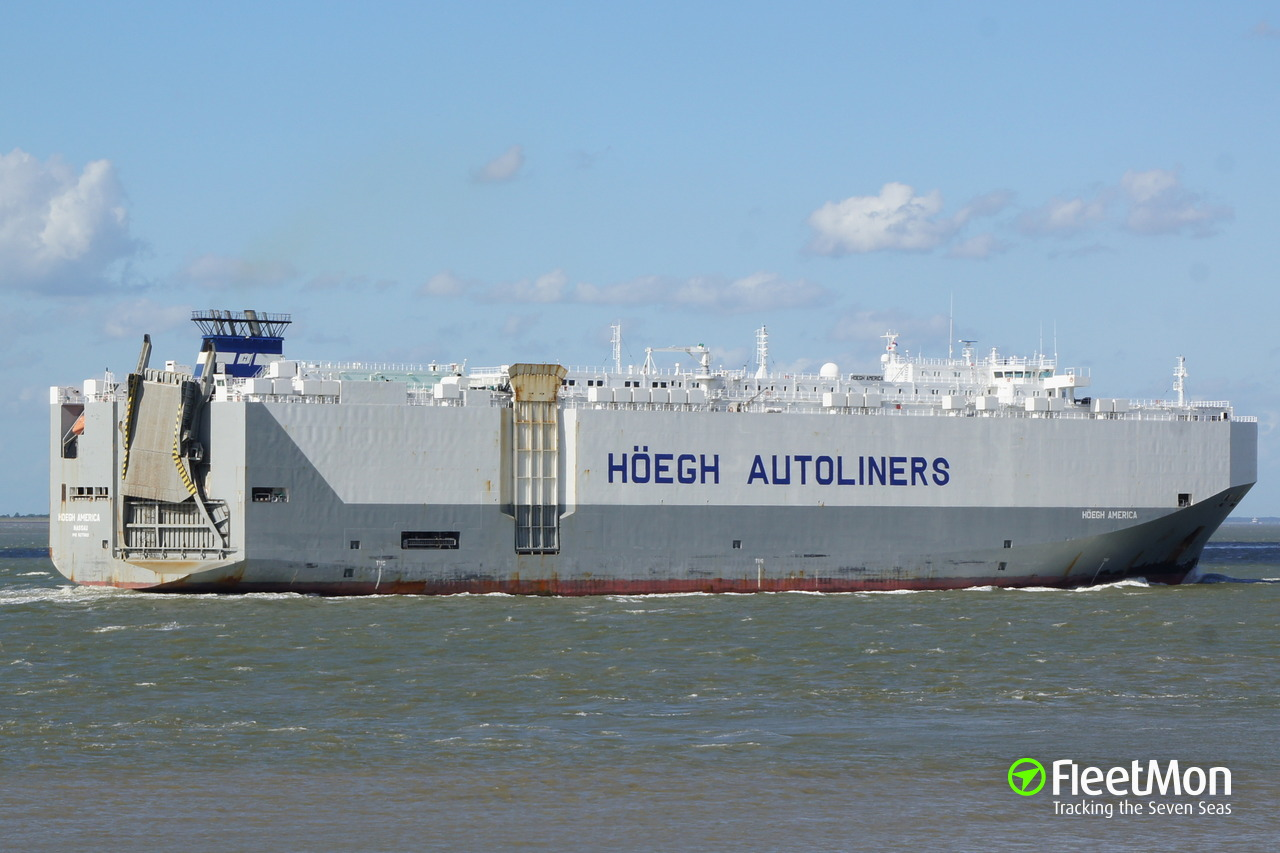 Vessel HOEGH AMERICA (Vehicle carrier) IMO 9277802, MMSI
