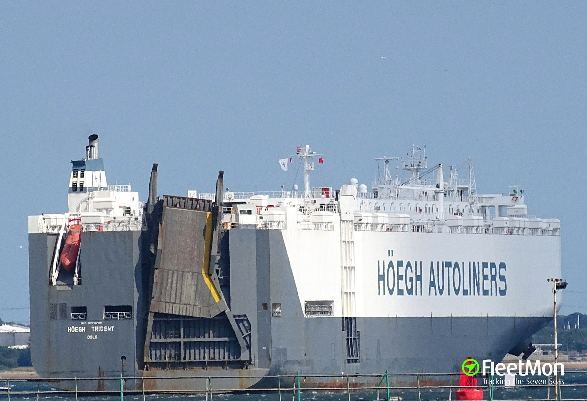 Photo of HOEGH TRIDENT (IMO: 9075709, MMSI: 257713000