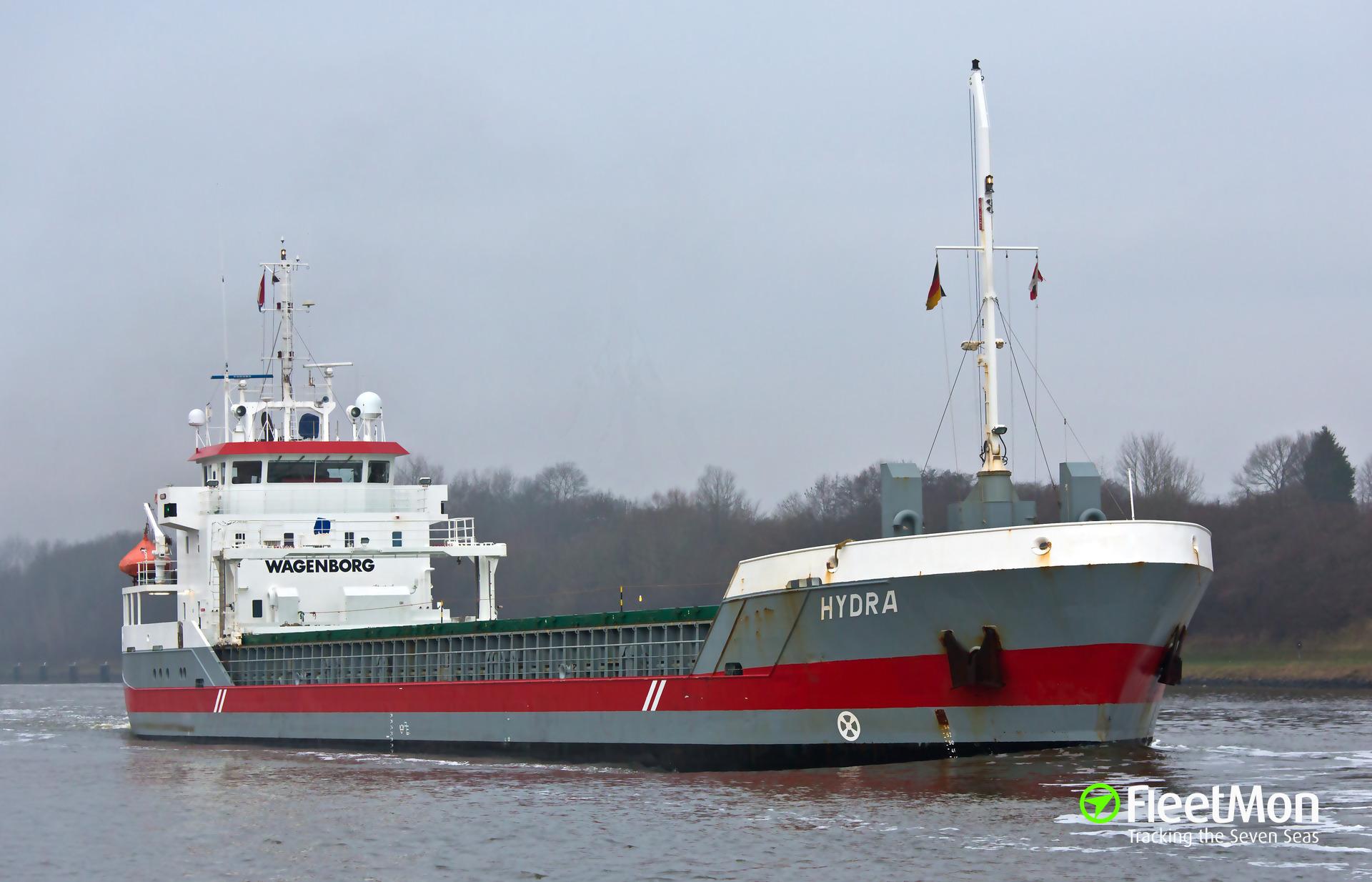 HYDRA grounding, Kiel Canal