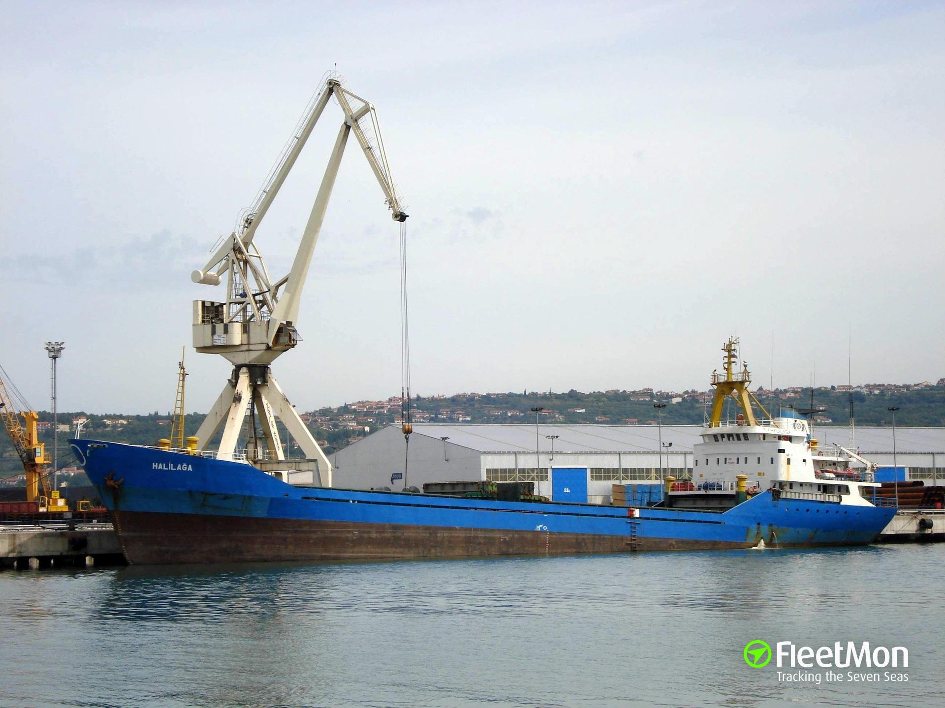 Sinking Turkish freighter rescued, Mediterranean
