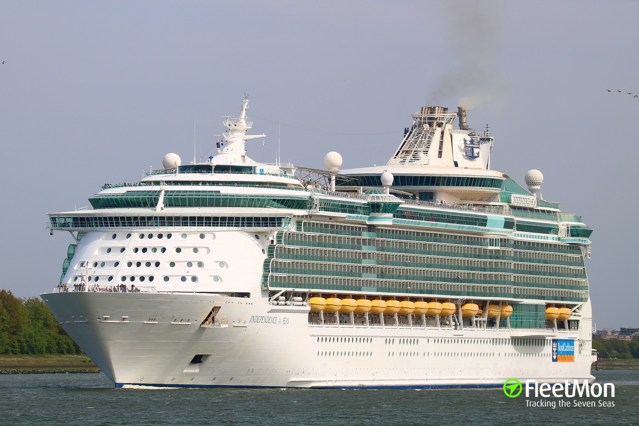 INDEPENDENCE OF THE SEAS Cruise Liner IMO - Cruise ship independence