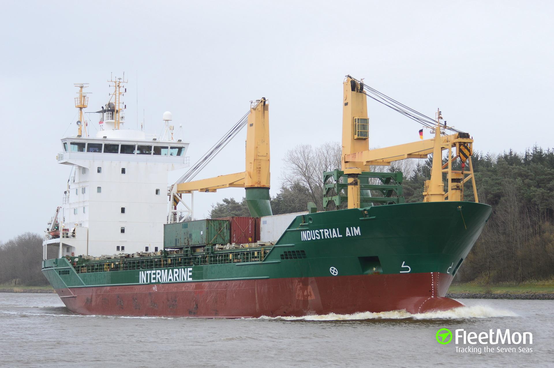 German freighter Mellum Trader stabilized