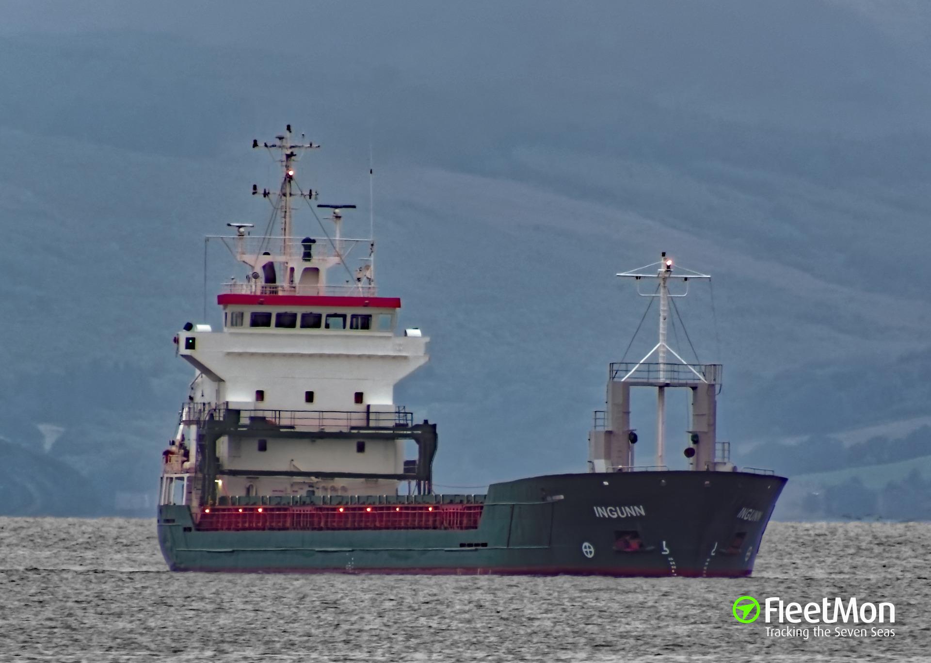 General cargo vessel Ingunn Master medevaced