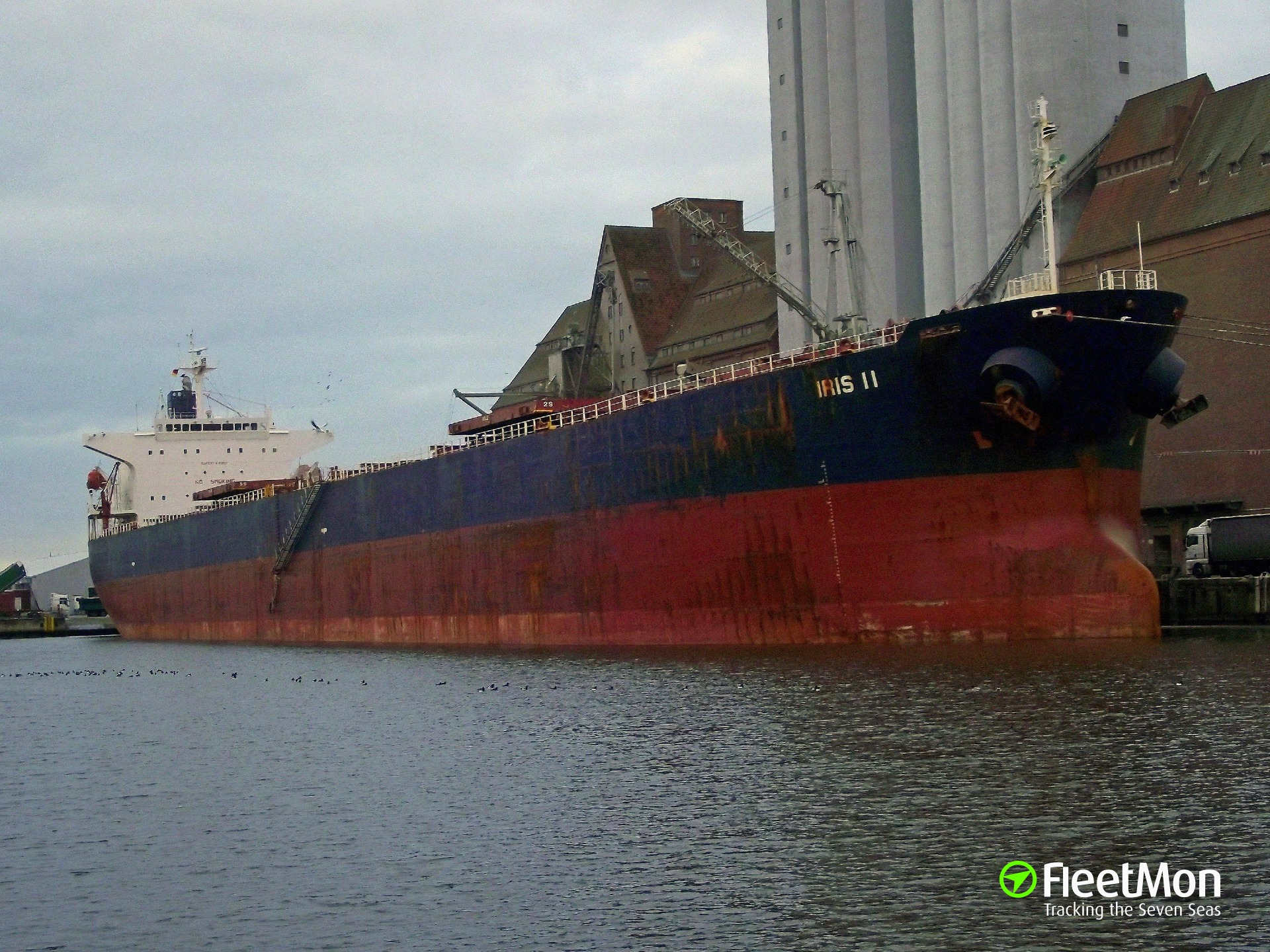 Disabled bulk carrier under tow, Indian ocean UPDATE