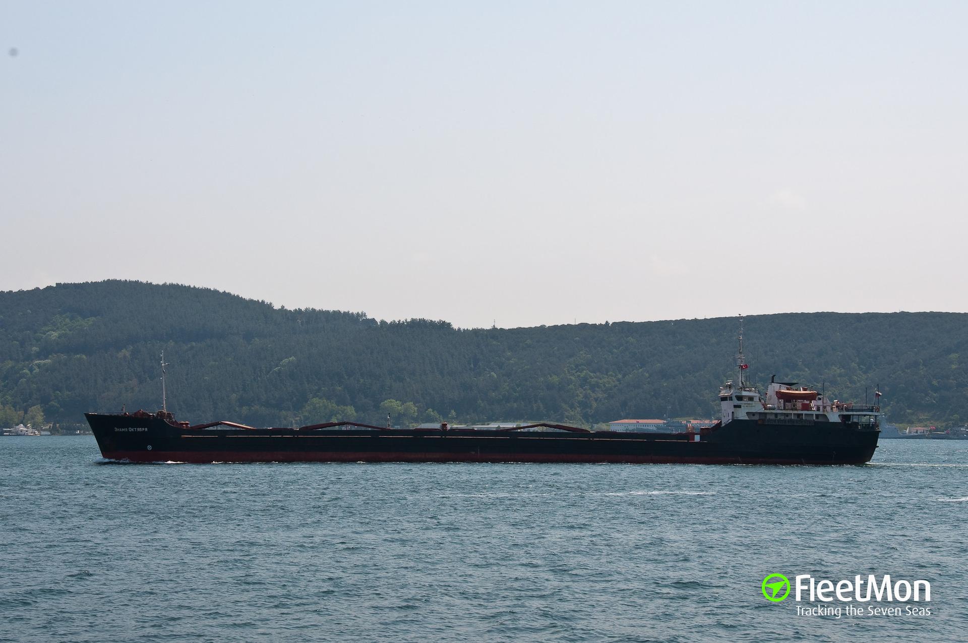 Ukrainian freighter Magnum disabled in Istanbul Strait