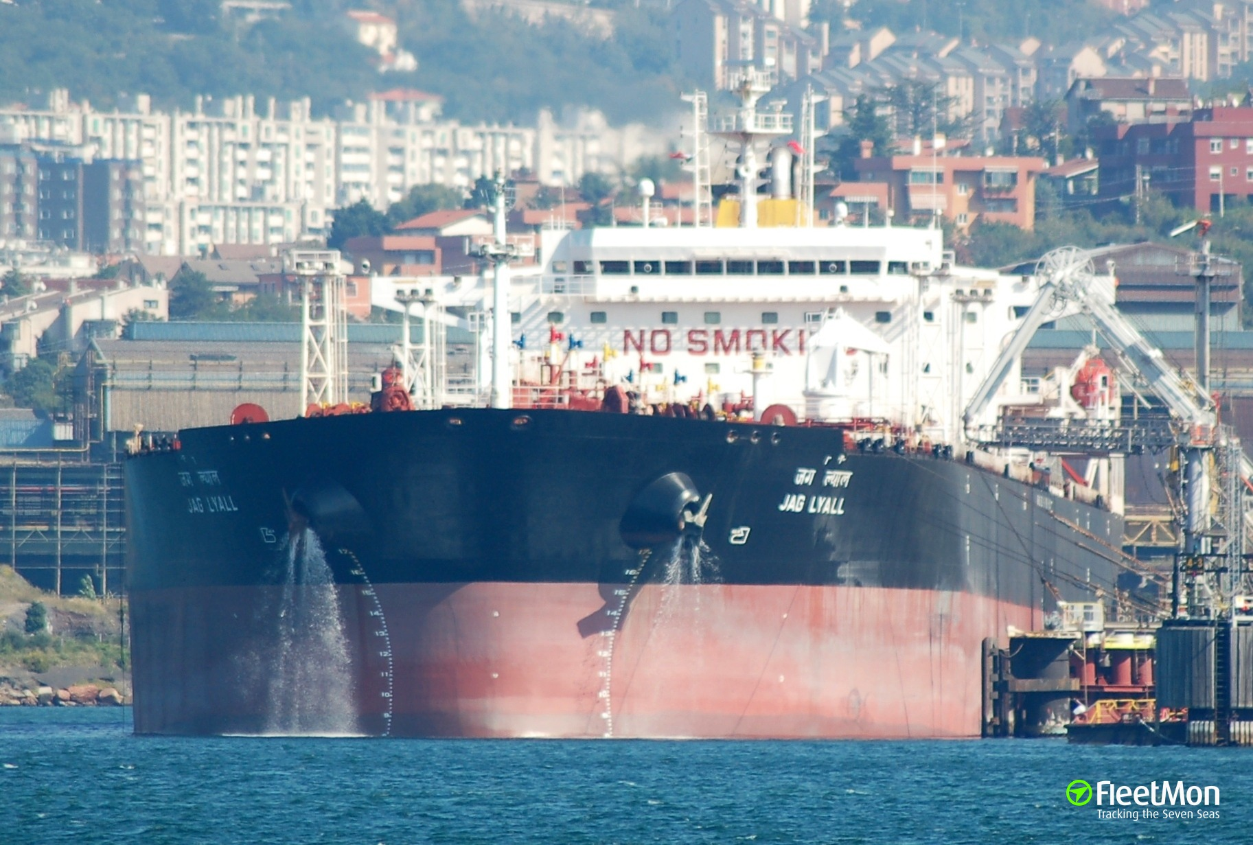 Aframax JAG LYALL with crude oil from Kozmino collided with bulker in Japan sea