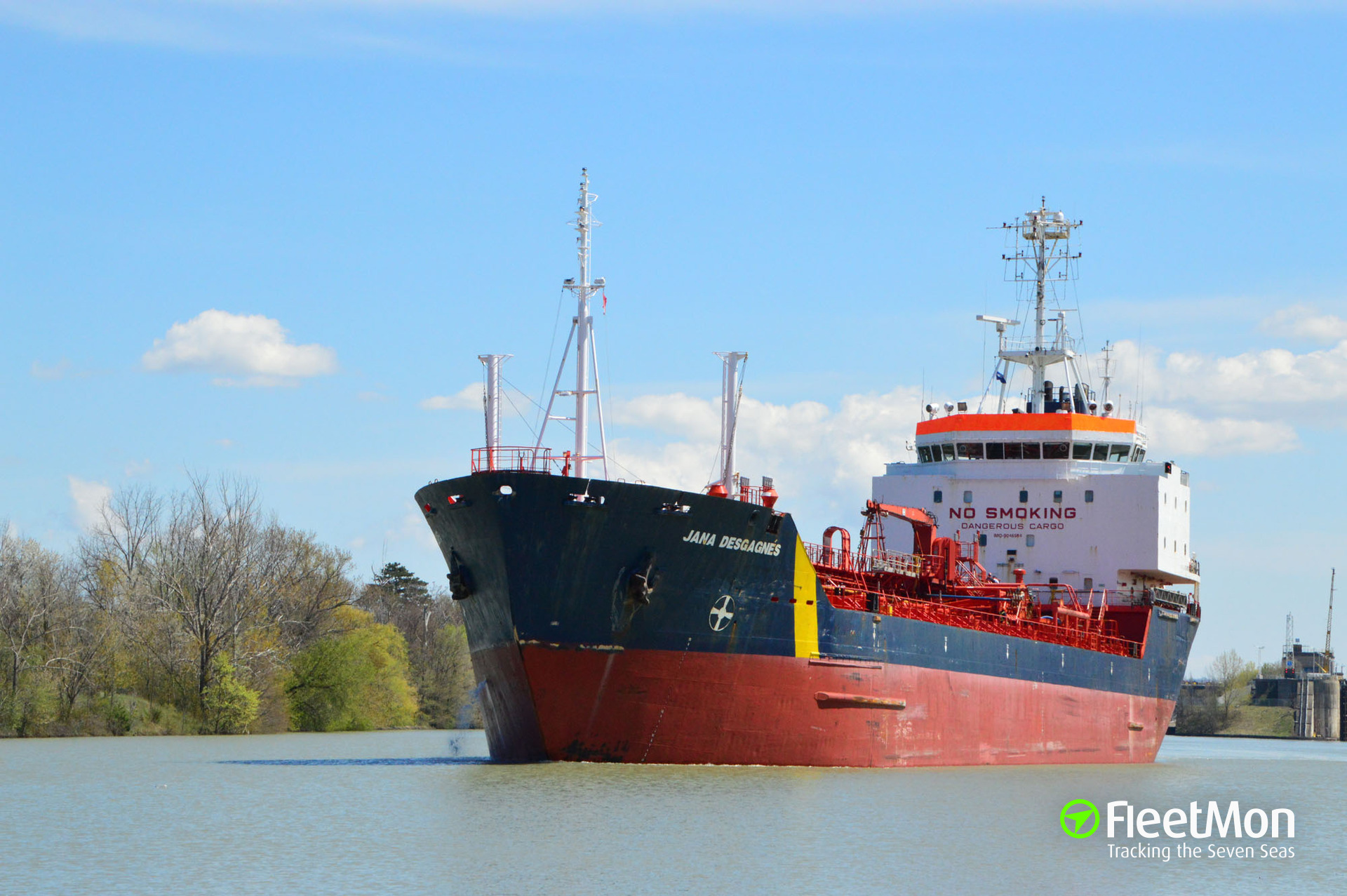JANA, Chemical/Oil Products Tanker - Details and current