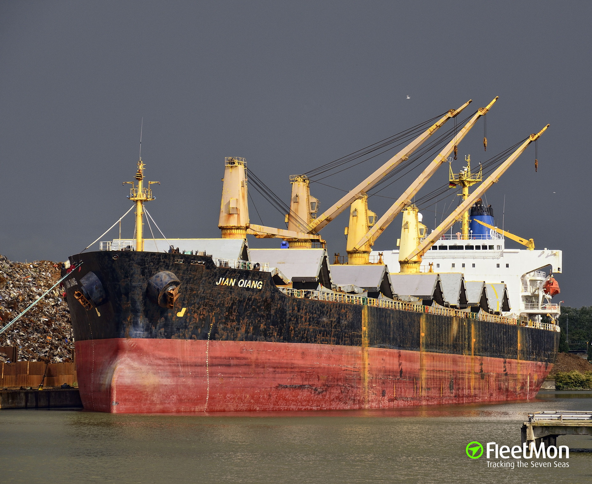 Bulk carrier aground, Port Arthur, Gulf of Mexico