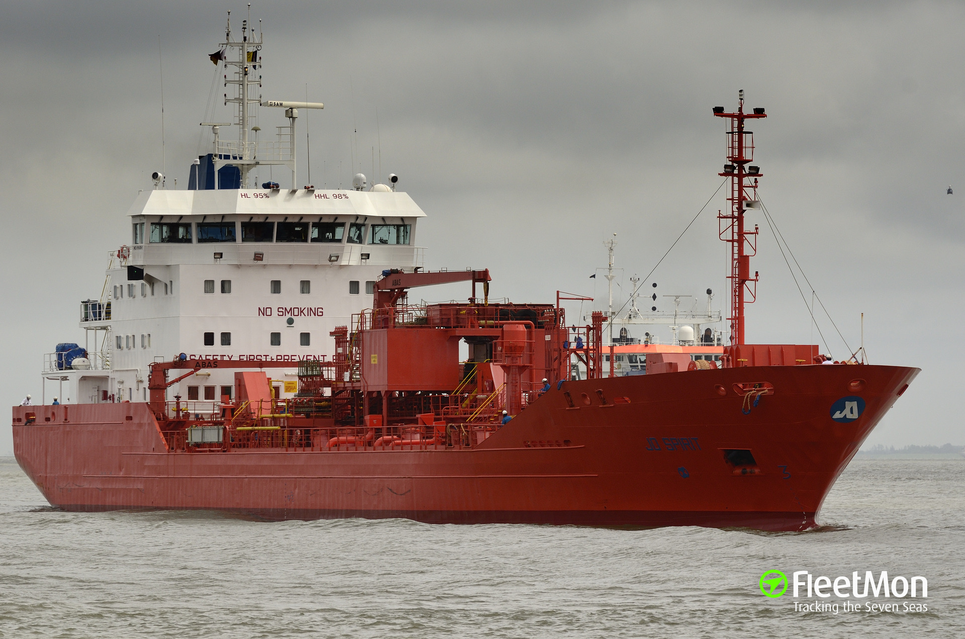 Tanker loaded with Bacardi Rum blocked the channel, Montreal