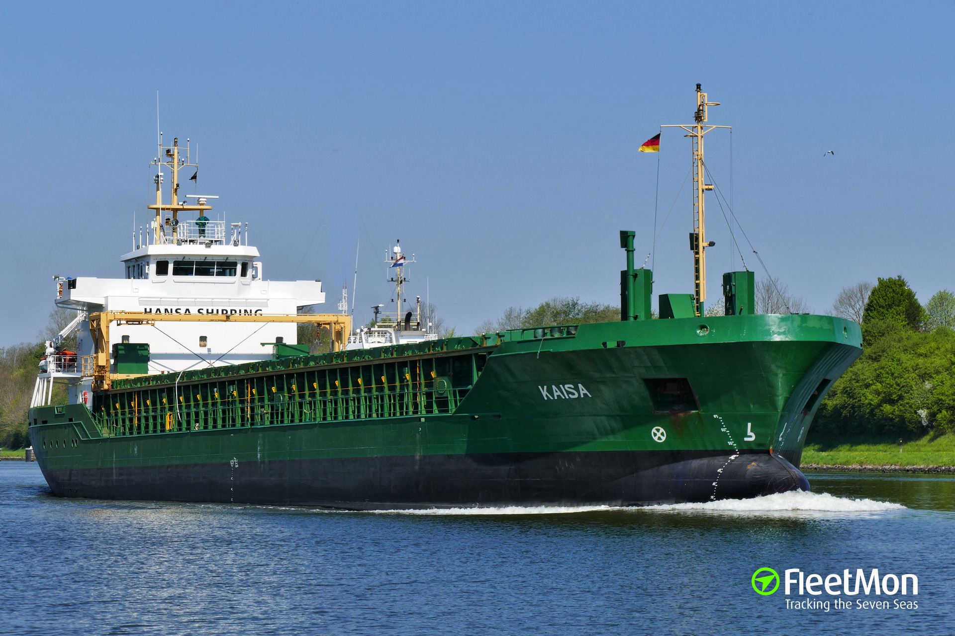 Bulk carrier ran aground off Sweden, captain found drunk