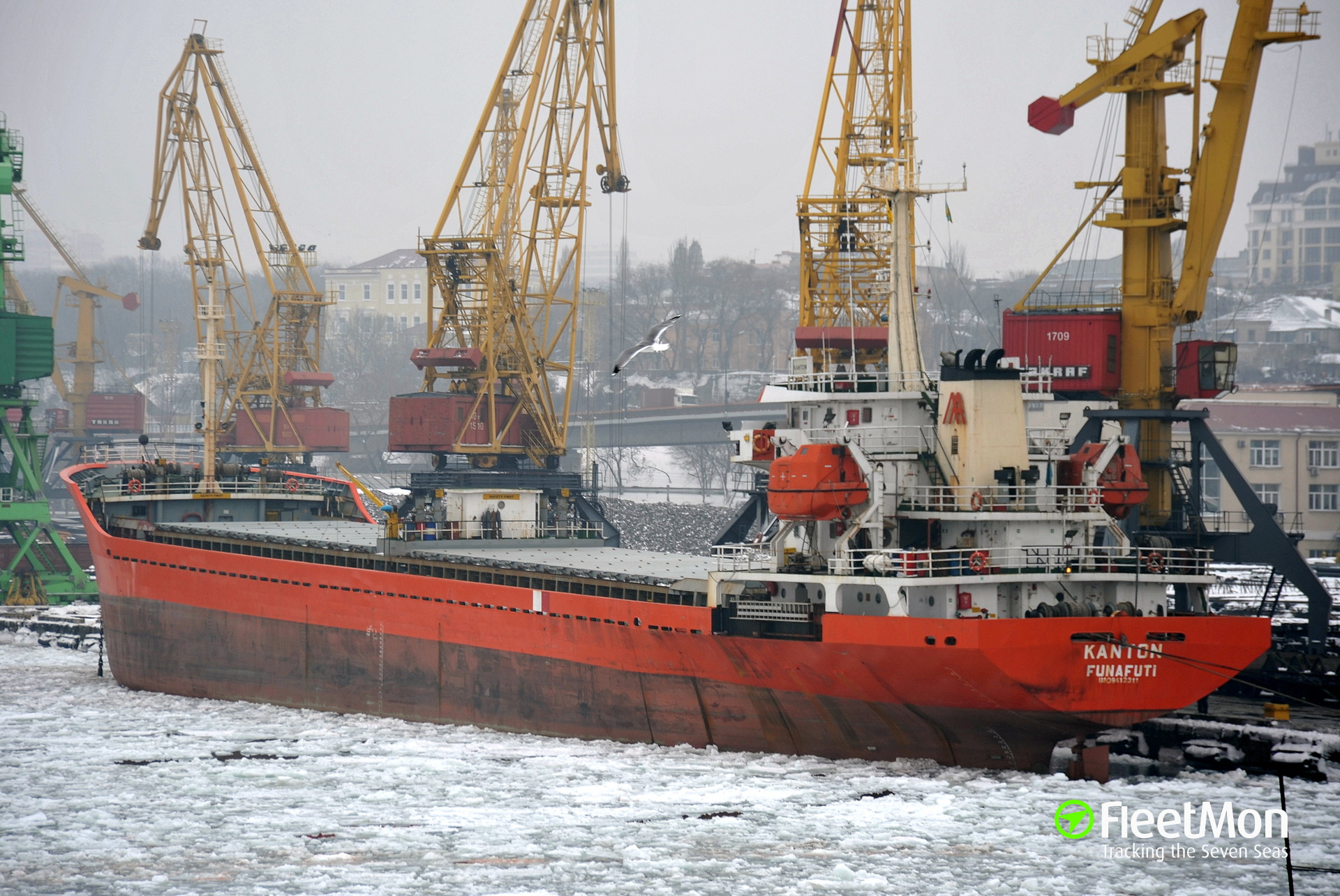 Turkish freighter Kanton arrested in Ukraine for visiting Crimea, may be confiscated