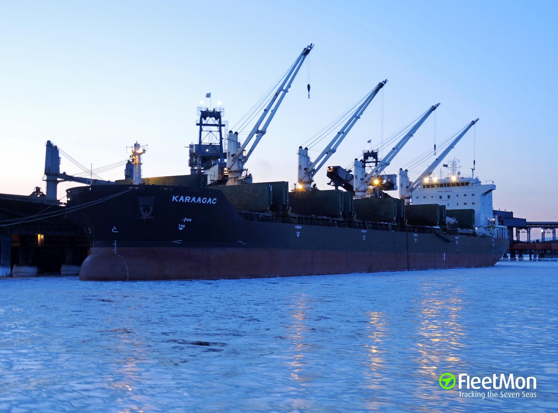 Bulk carrier KARAAGAC arrest