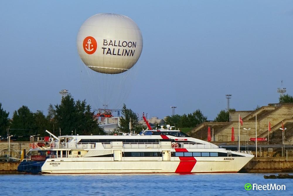 Tallinn – Helsinki fast ferry damaged in collision
