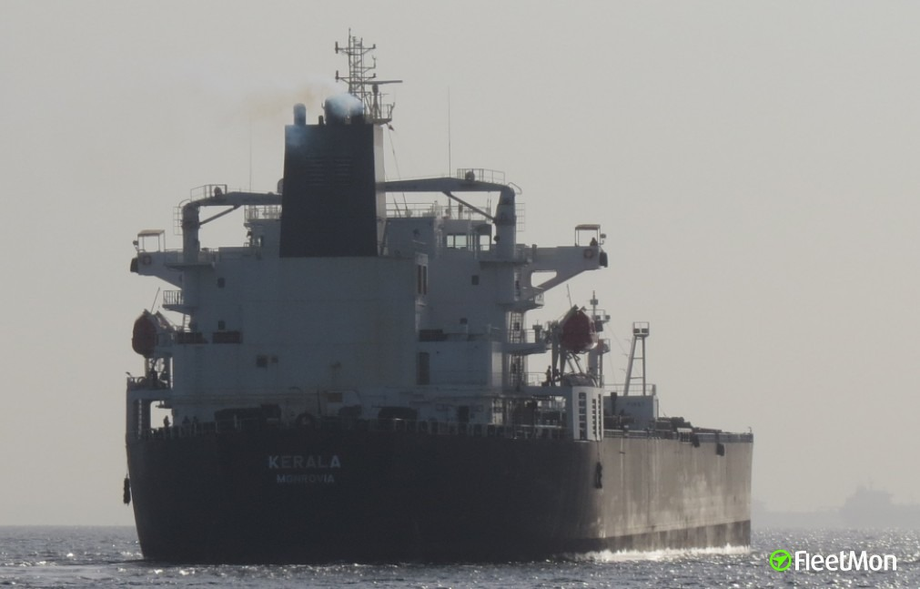 Tanker Kerala suspected to be attacked by pirates
