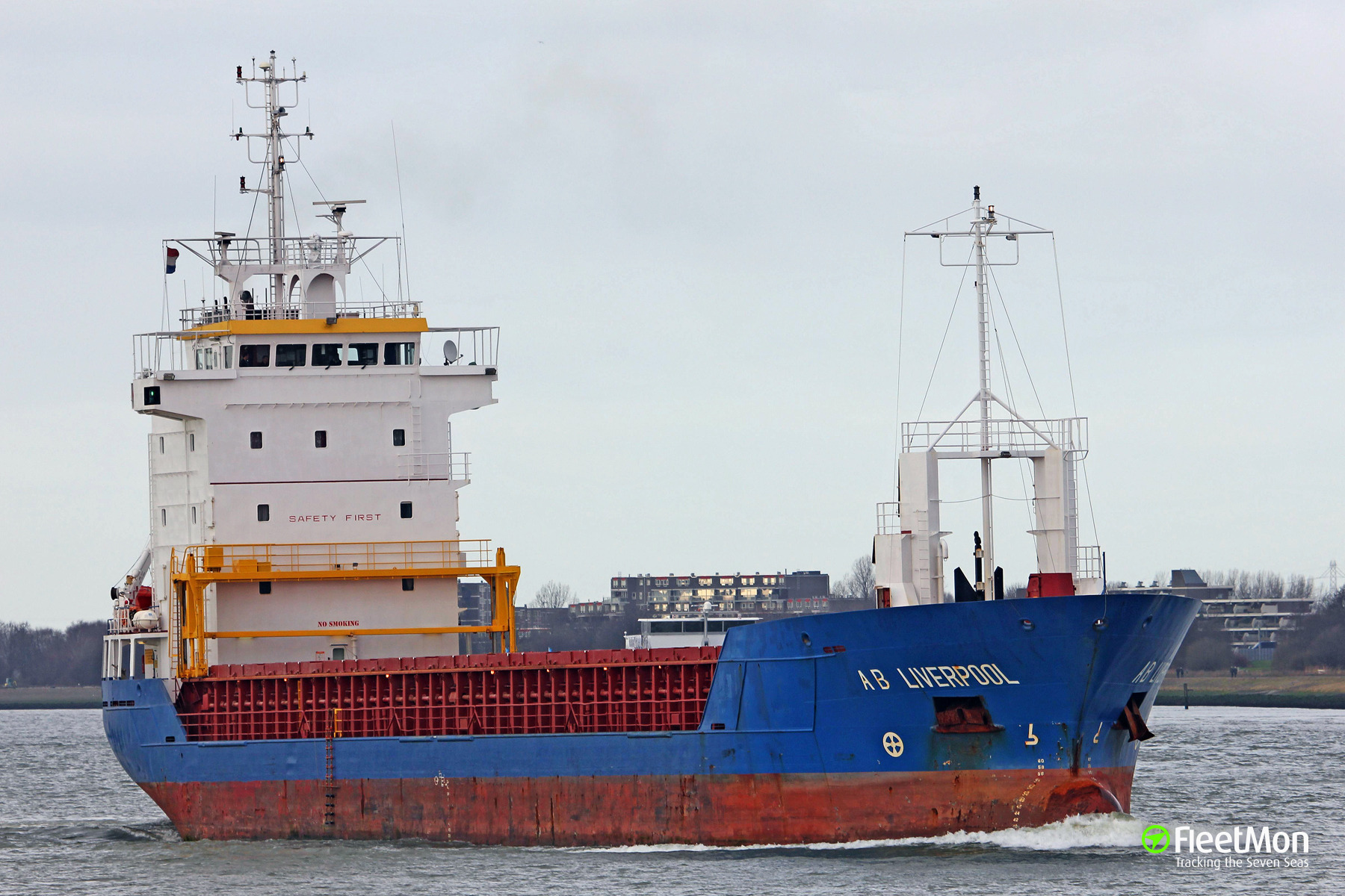 General cargo vessel Kertu under tow to Oxelosund, situation under control