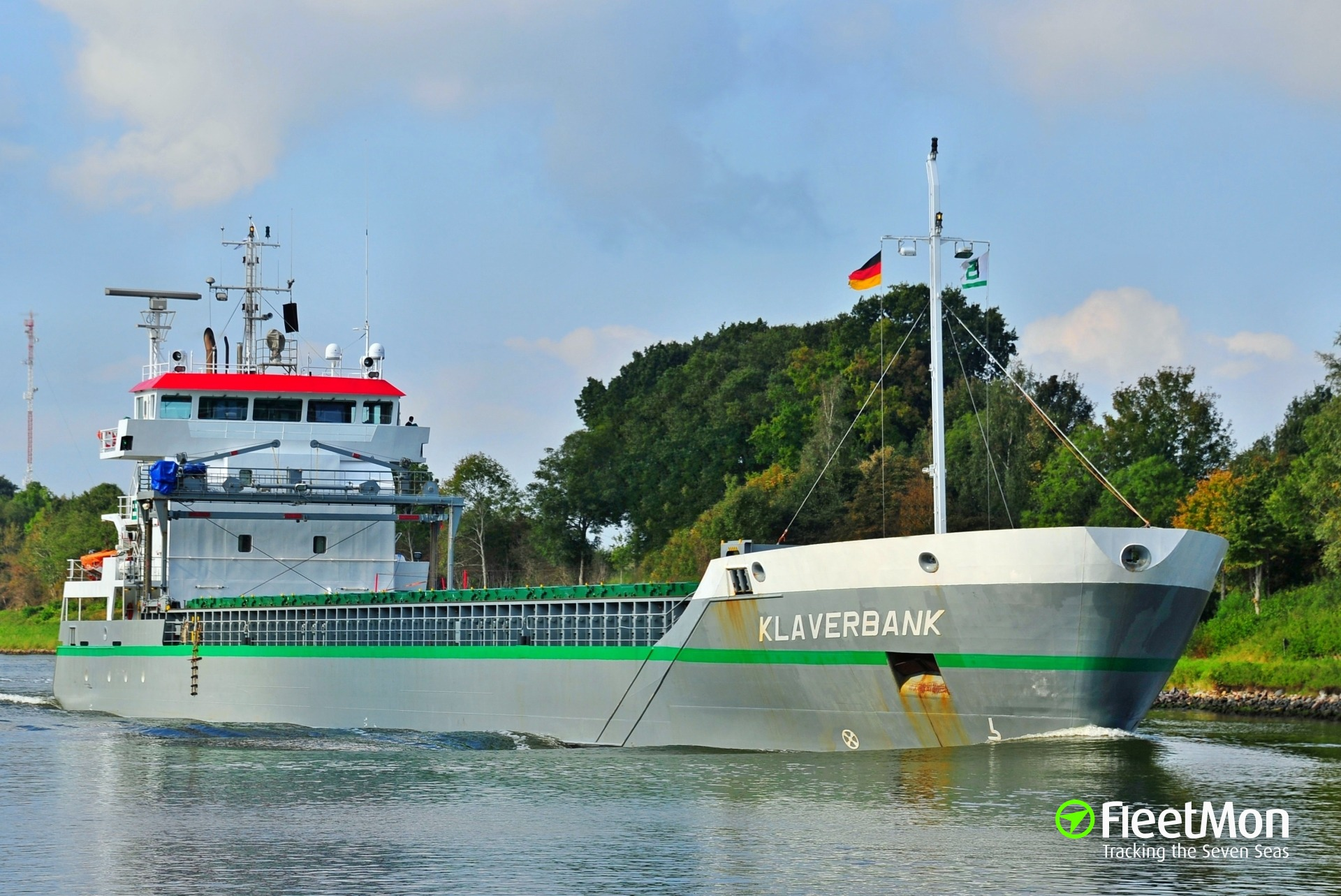 Freighter Klaverbank disabled but fixed problem