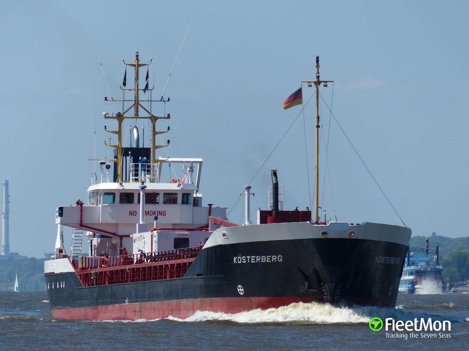 Triple allision in Kiel Canal