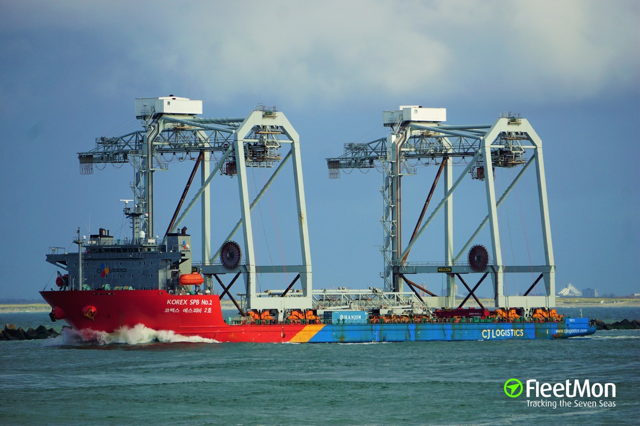 Vessel KOREX SPB NO 2 (Heavy Lift Vessel) IMO 9593397, MMSI