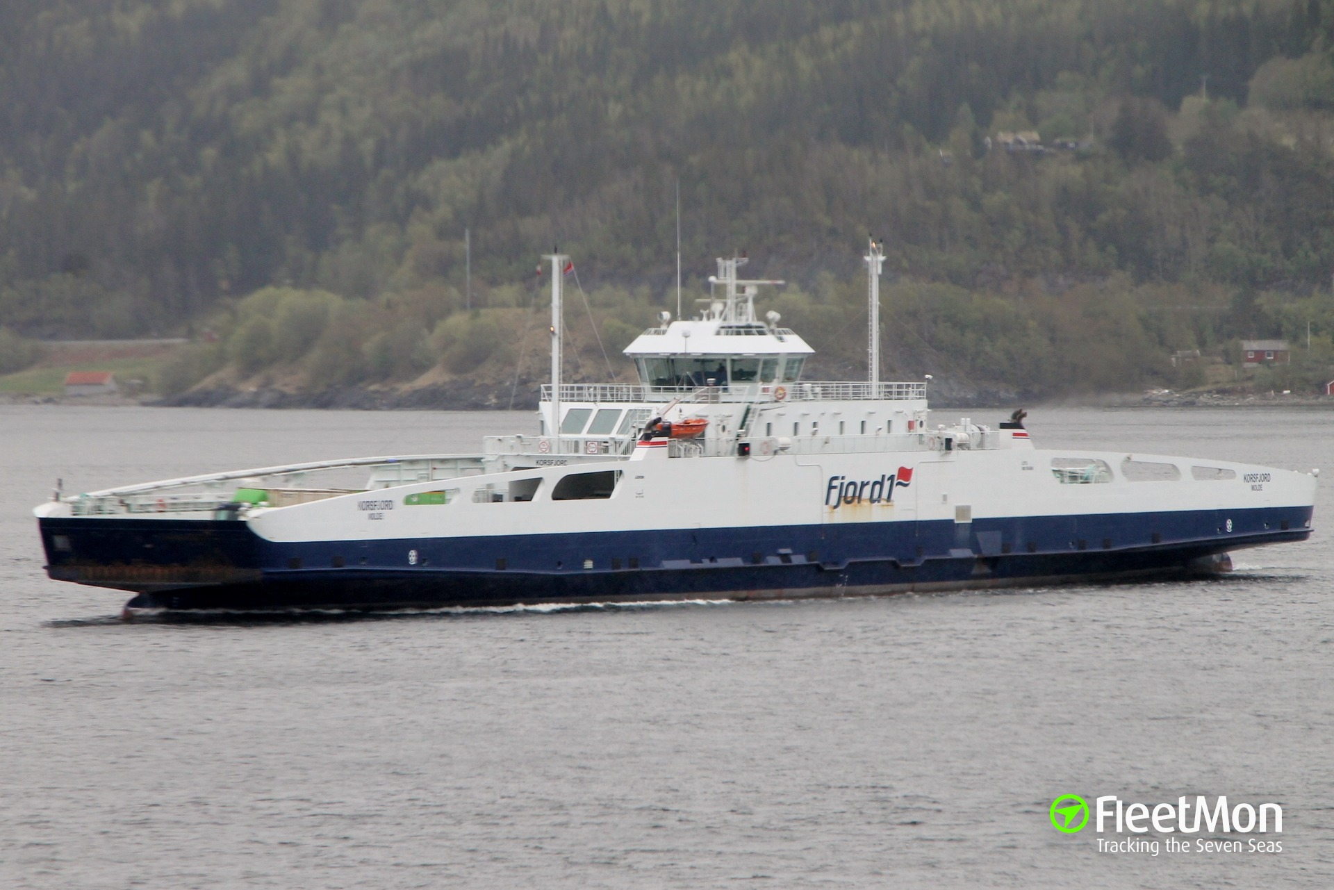 Ferry Korsfjord fire