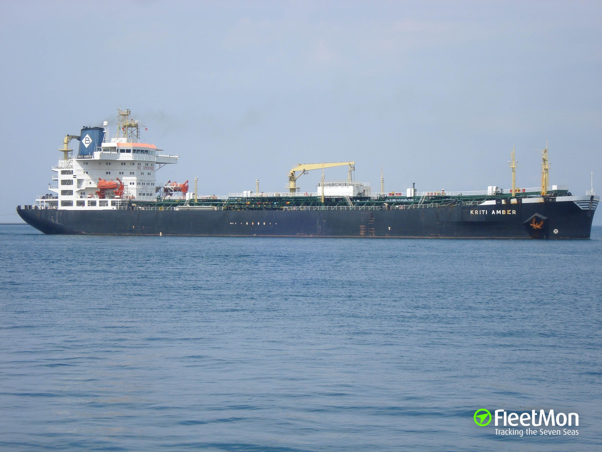 ​  MT KRITI AMBER towed to Piraeus after engine breakdown