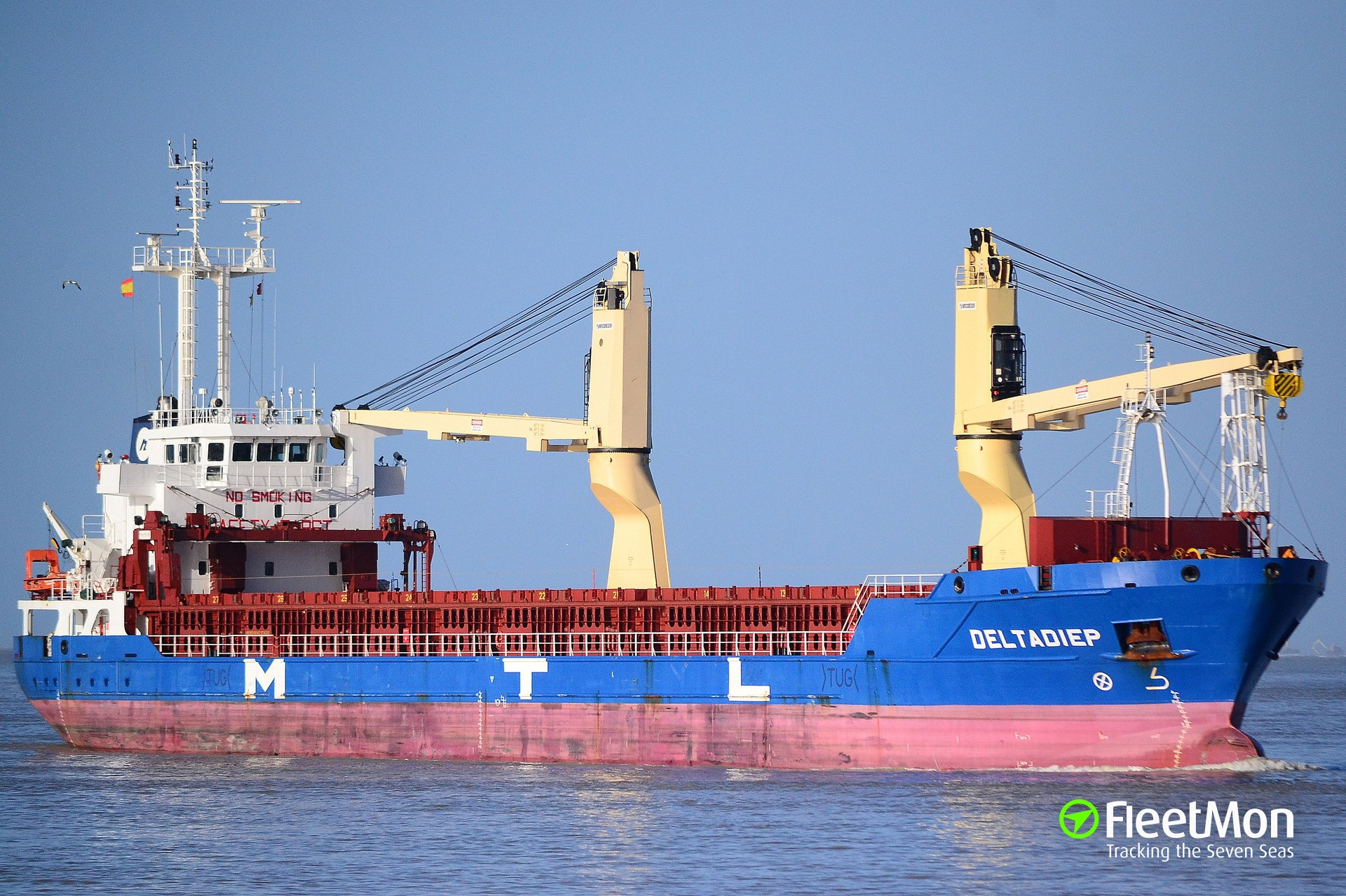 Freighter Deltadiep detained, crew arrested, after police found cocaine, Guyana