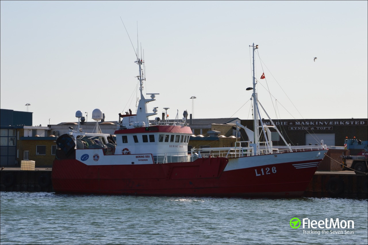 L126 bering sea fishing vessel imo for Bering sea fishing