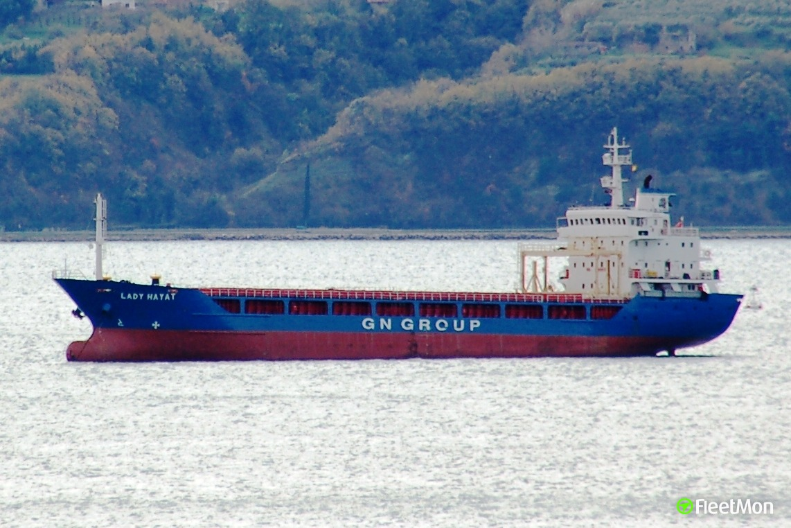 Lady Hayat troubled in Bosphorus