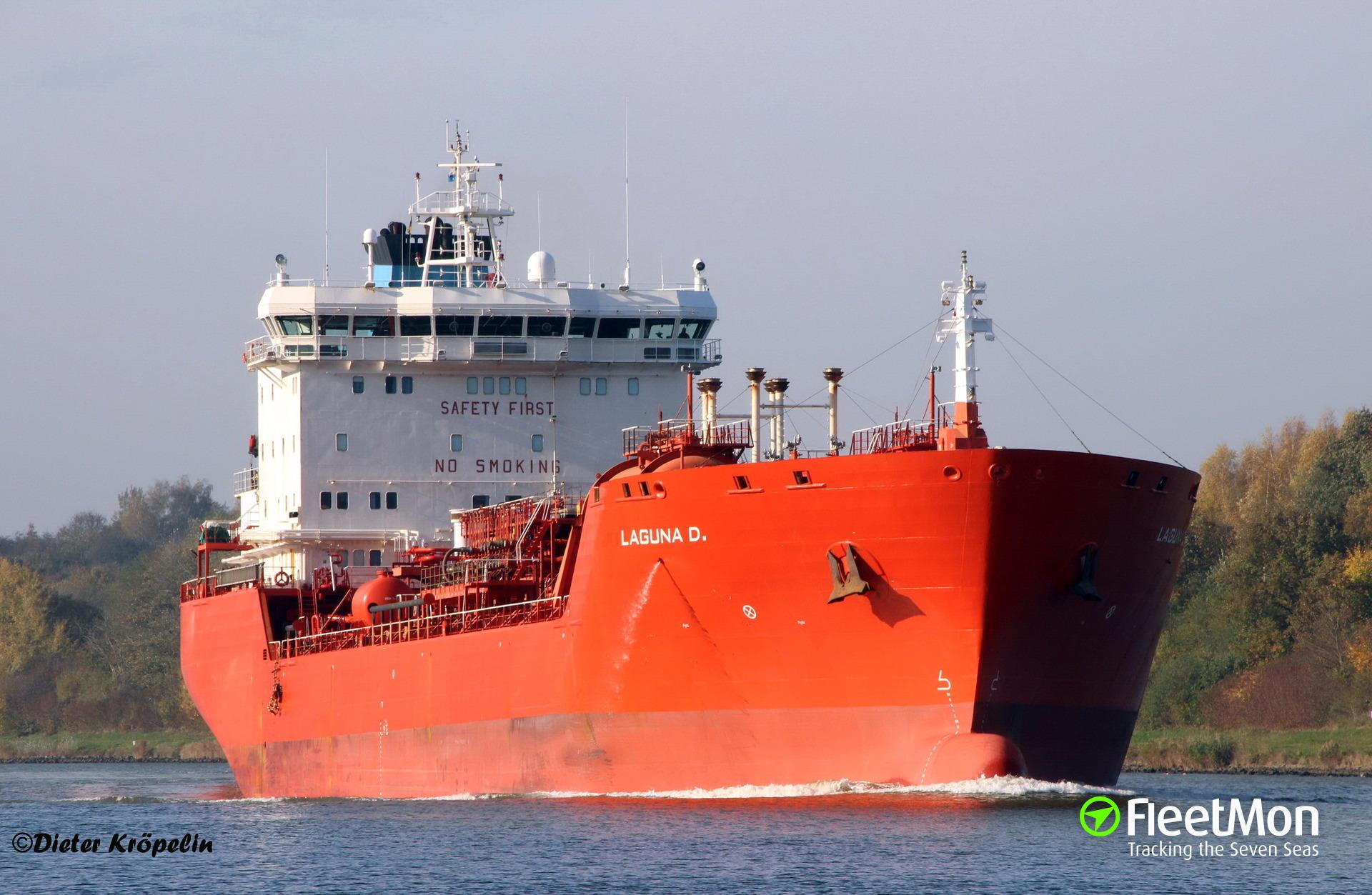 Dutch tanker Laguna D involved in cocaine smuggling?