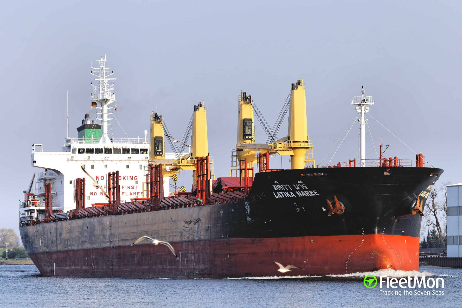 Two port workers died on board of Precious' bulk carrier