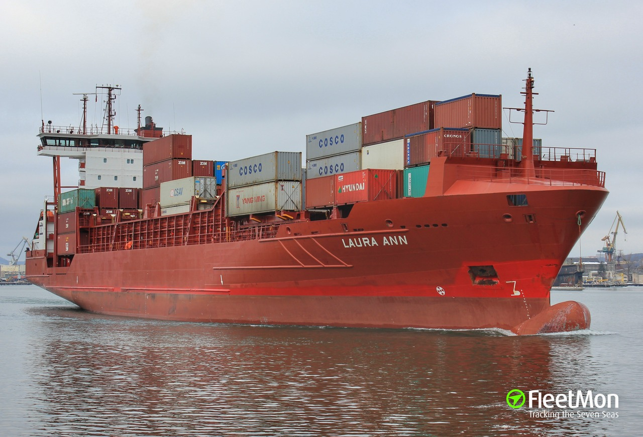 Laura Ann Container Ship Imo 9242558