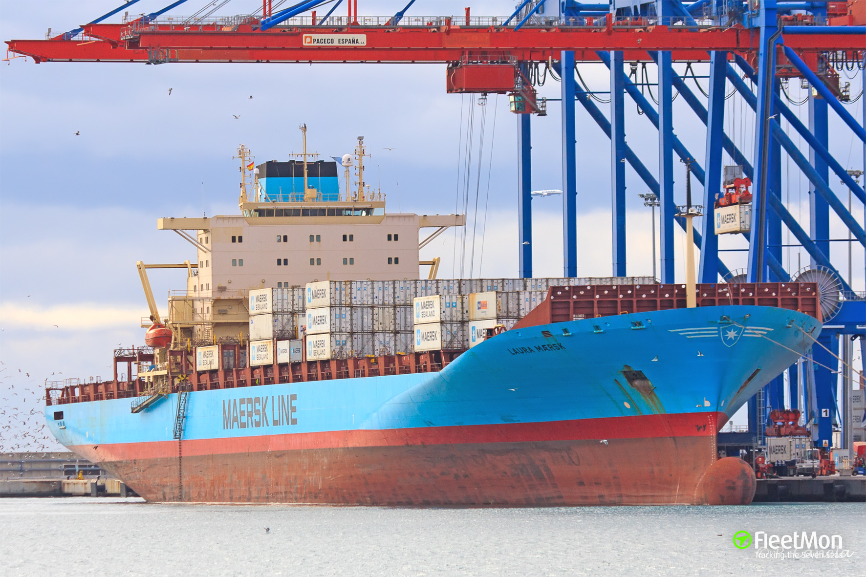 229 kilos of cocaine on Maersk' boxship