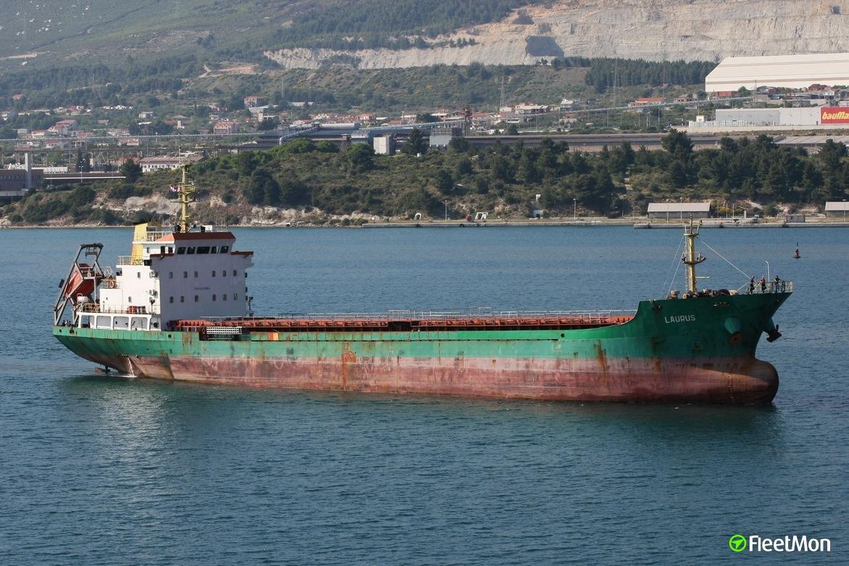 Ukrainian freighter LAURUS troubled in Dardanelles