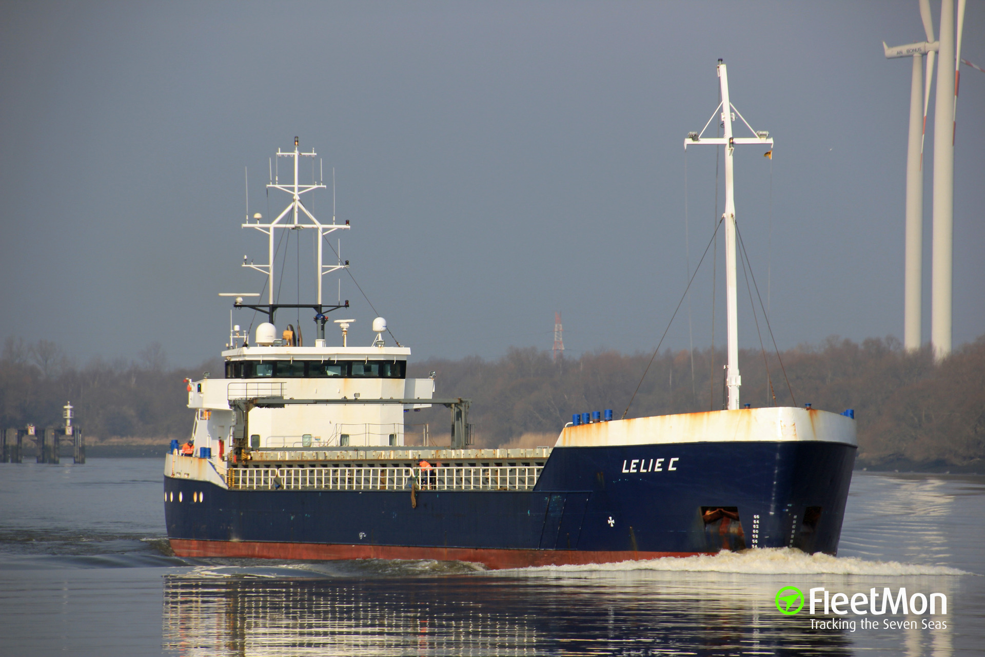 General cargo vessel Lelie detention