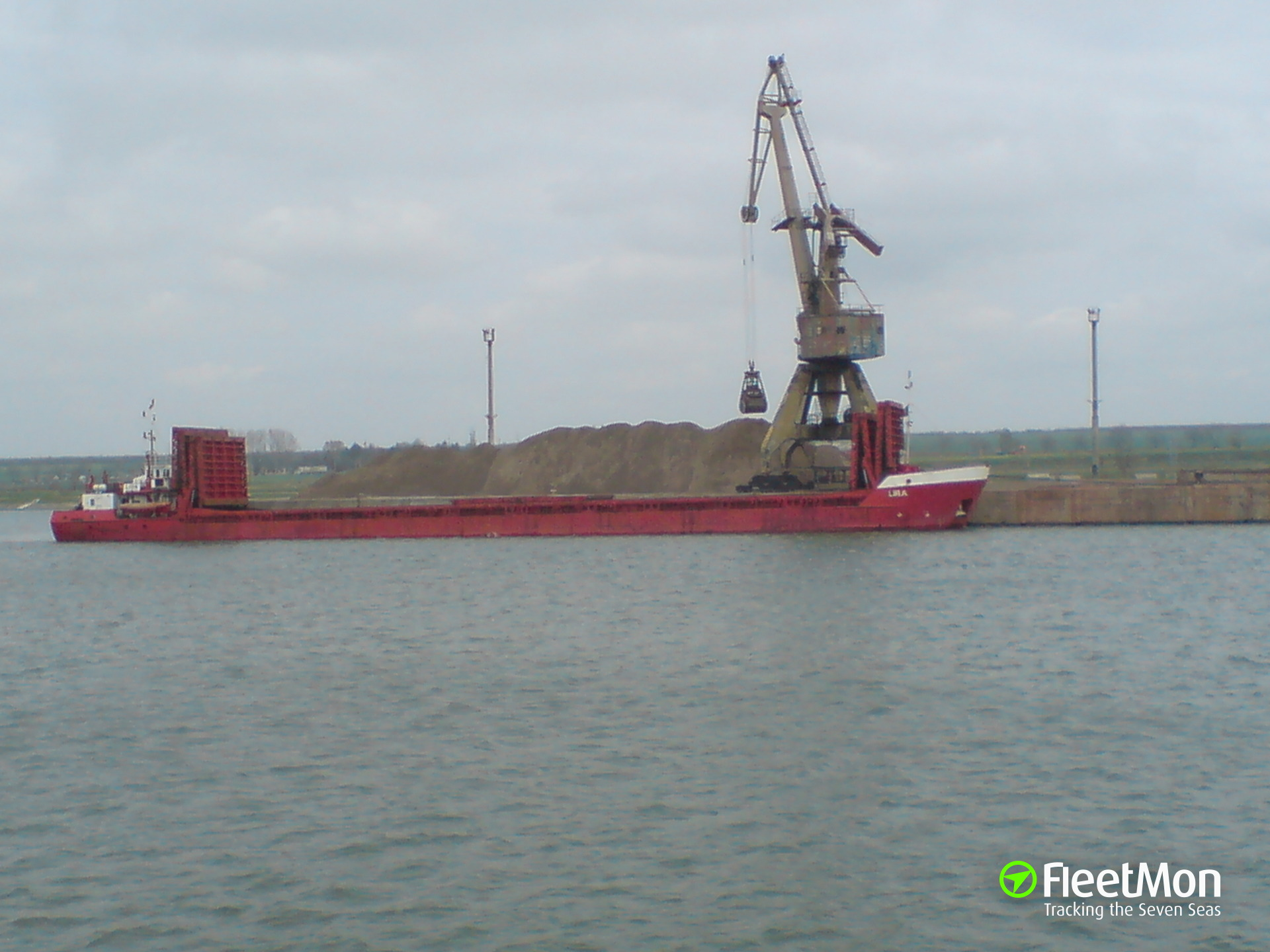 General cargo vessel LIRA allided with Kerch Strait Bridge