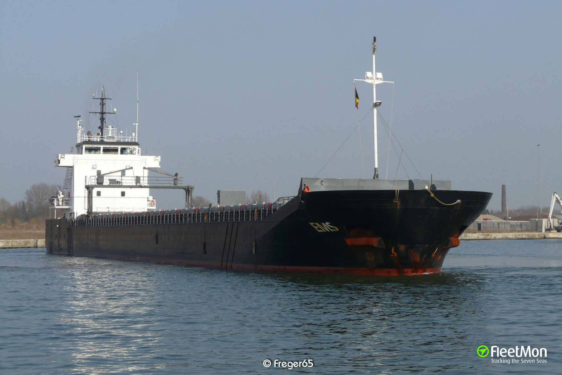 General cargo vessel EMS towed to Emden after engine failure