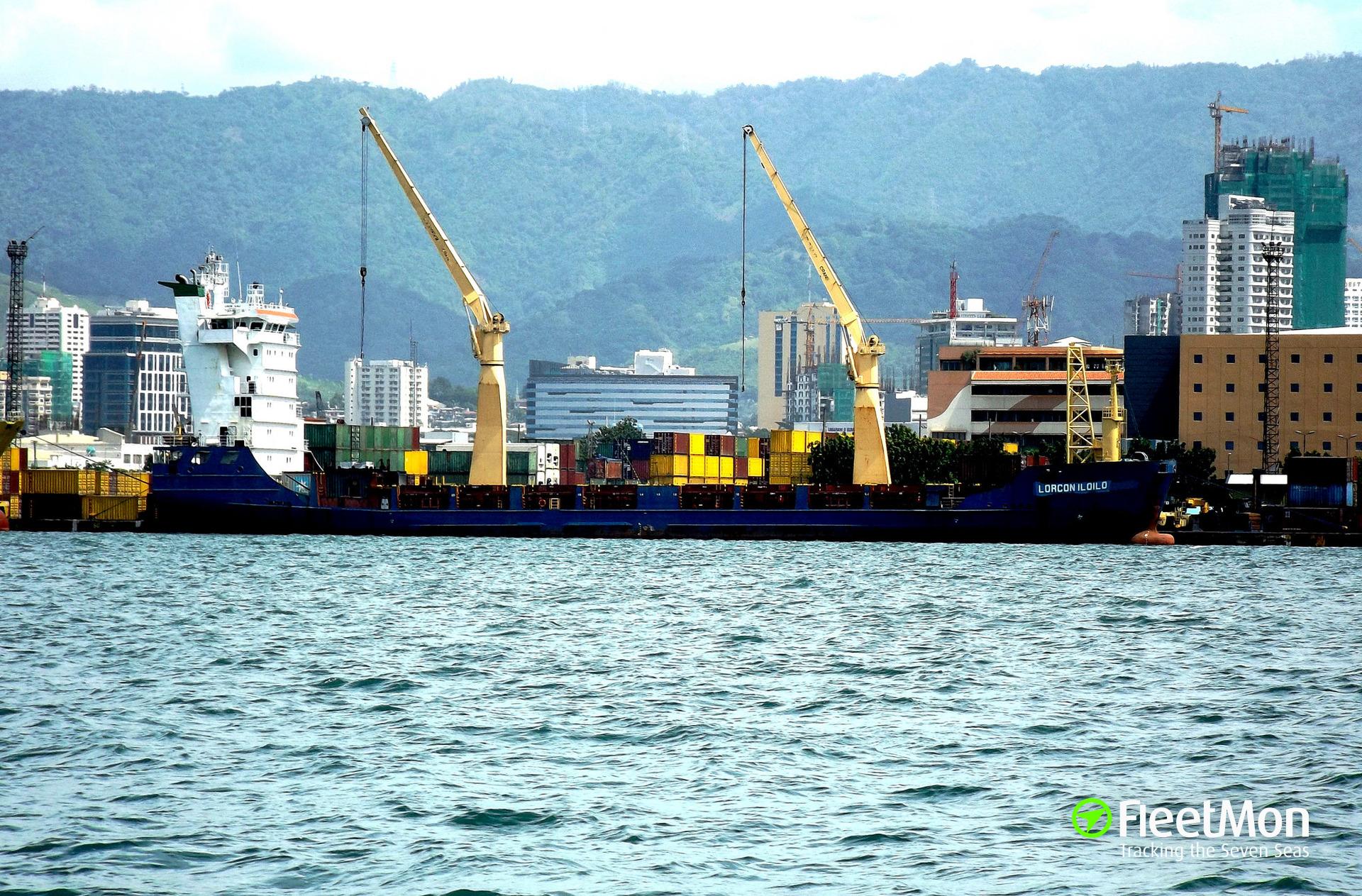 General cargo vessel Rio Para breakdown, Belize