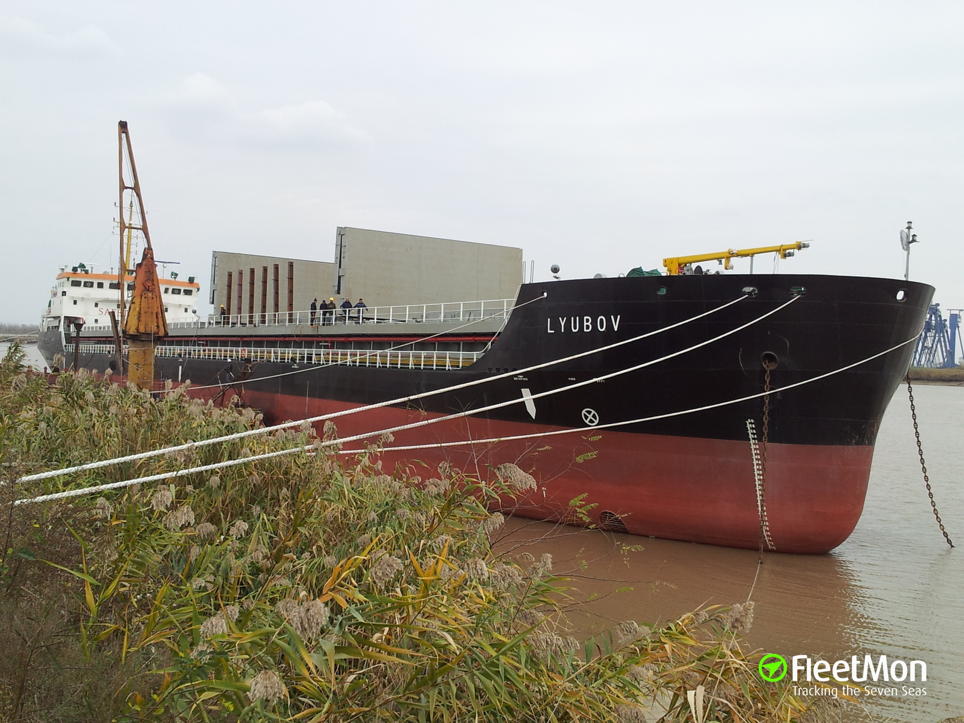General cargo vessel LYUBOV owner reappeared