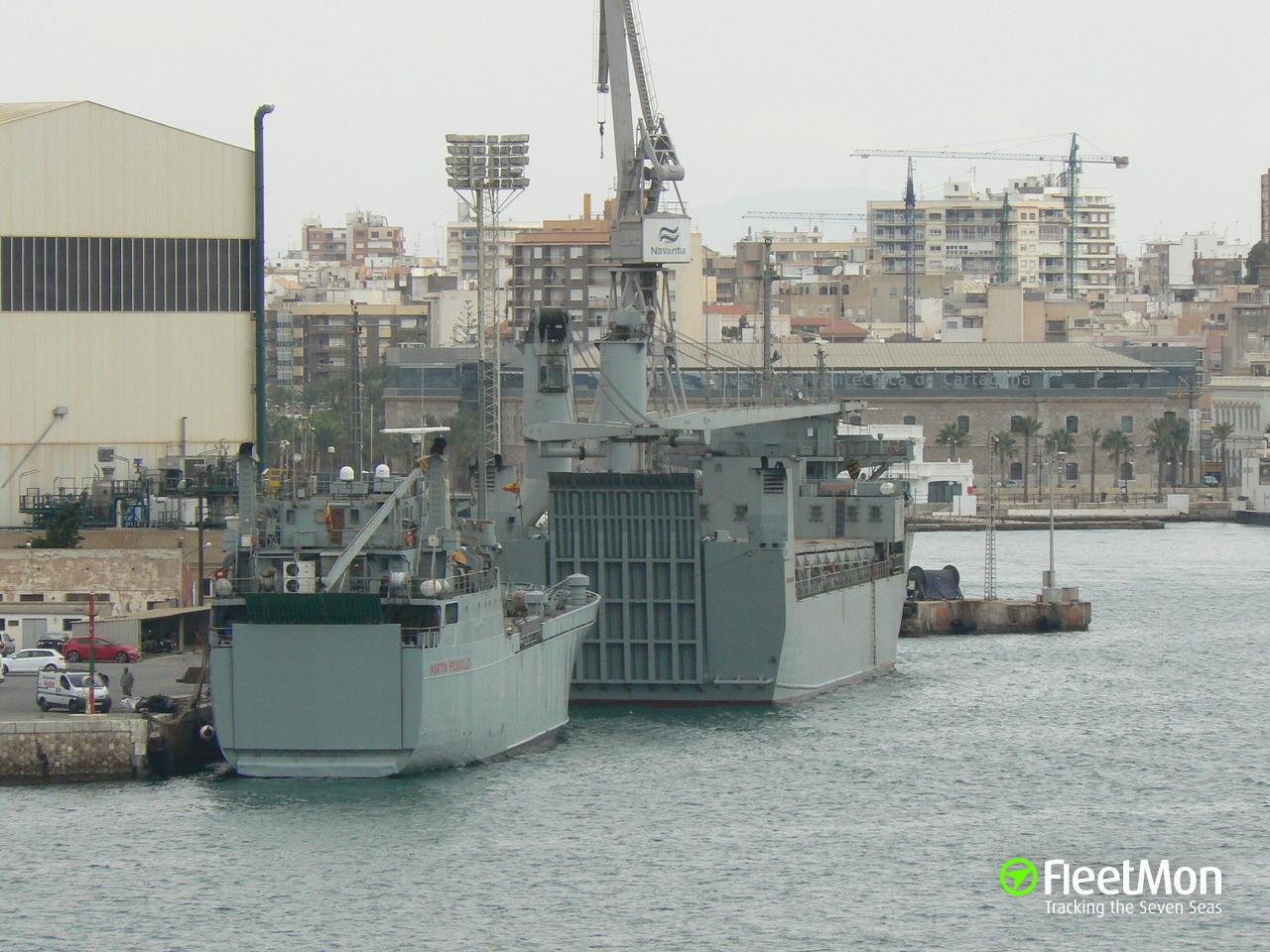 Buque M C EN (Transport ship) IMO —, MMSI 224066000