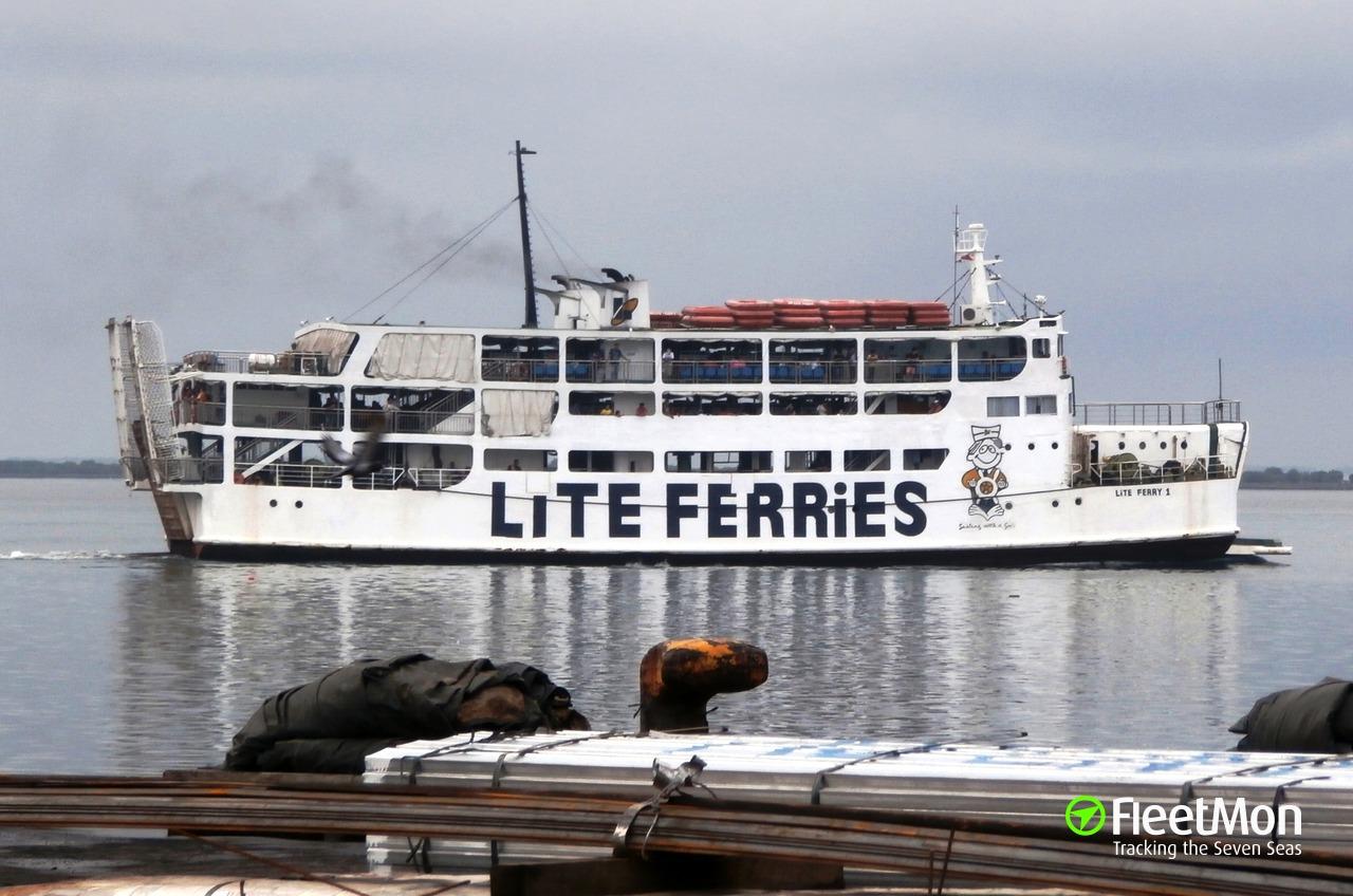 Vessel M V LITE FERRY 1 (Passenger ship) IMO —, MMSI 548689300