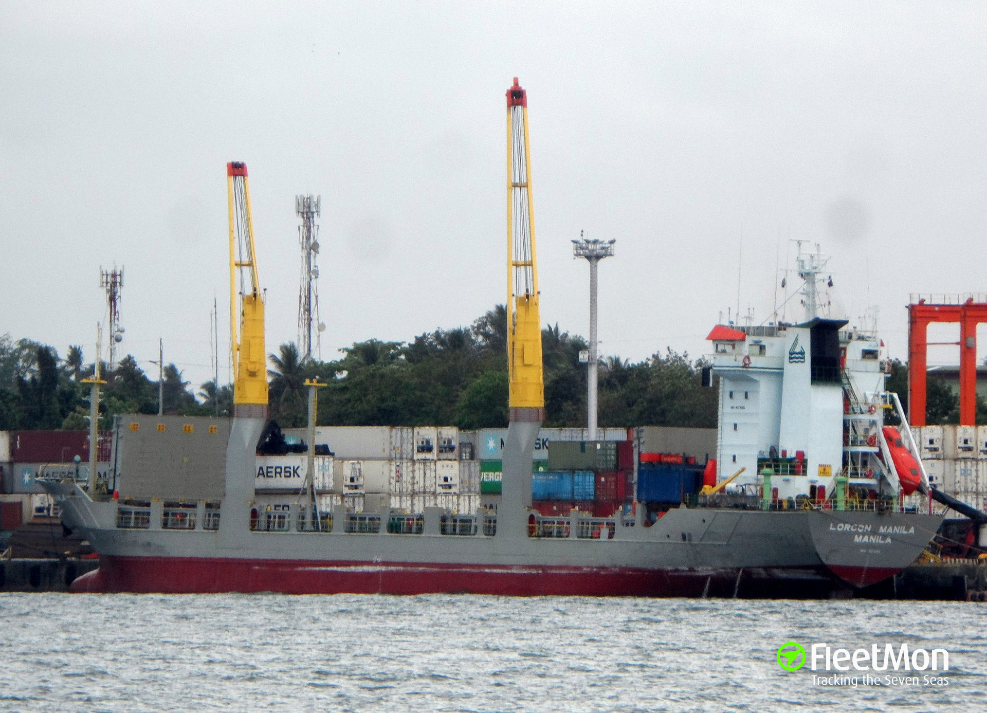 M V LORCON MANILA Container ship IMO 9071648