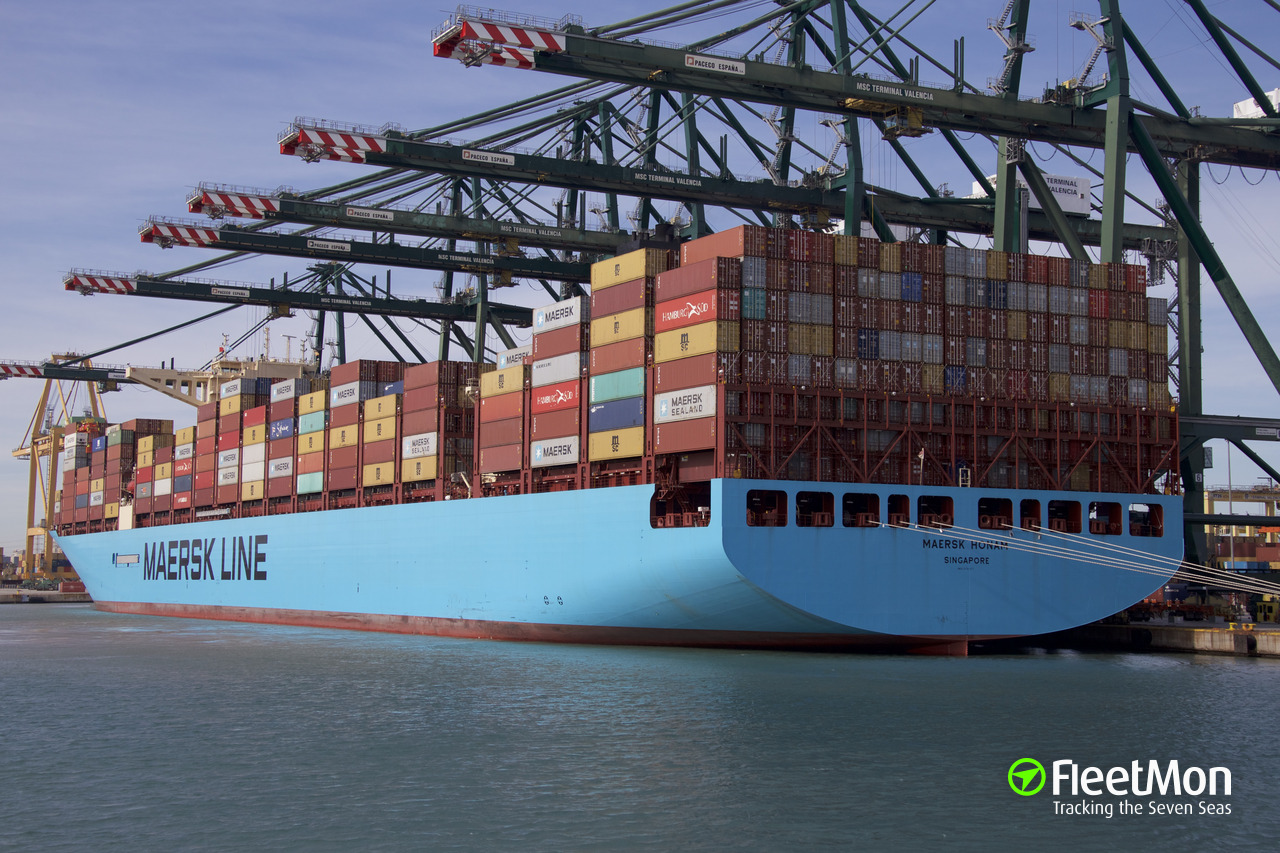 Vessel MAERSK HALIFAX (Container ship) IMO 9784271, MMSI