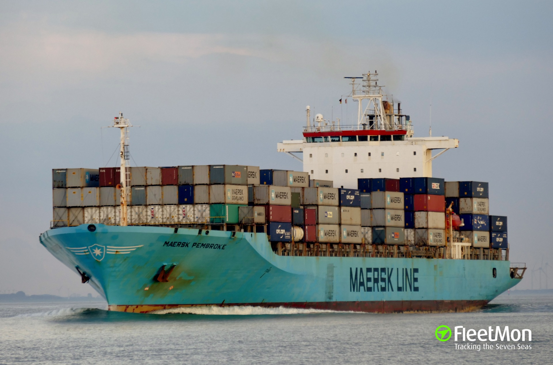 Container ship MAERSK PEMBROKE fire Update