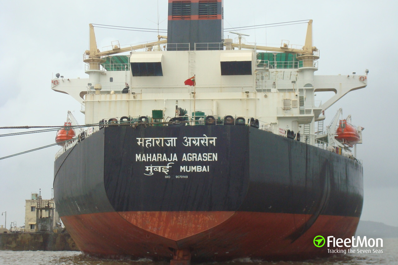 Maharaja Agrasen Oil Tanker Imo 9070149