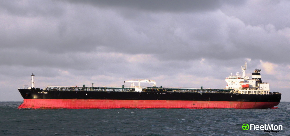 Tankers MAISTROS and RIDGEBURY KATHRINE Z collided off Belgium coast: UPDATE
