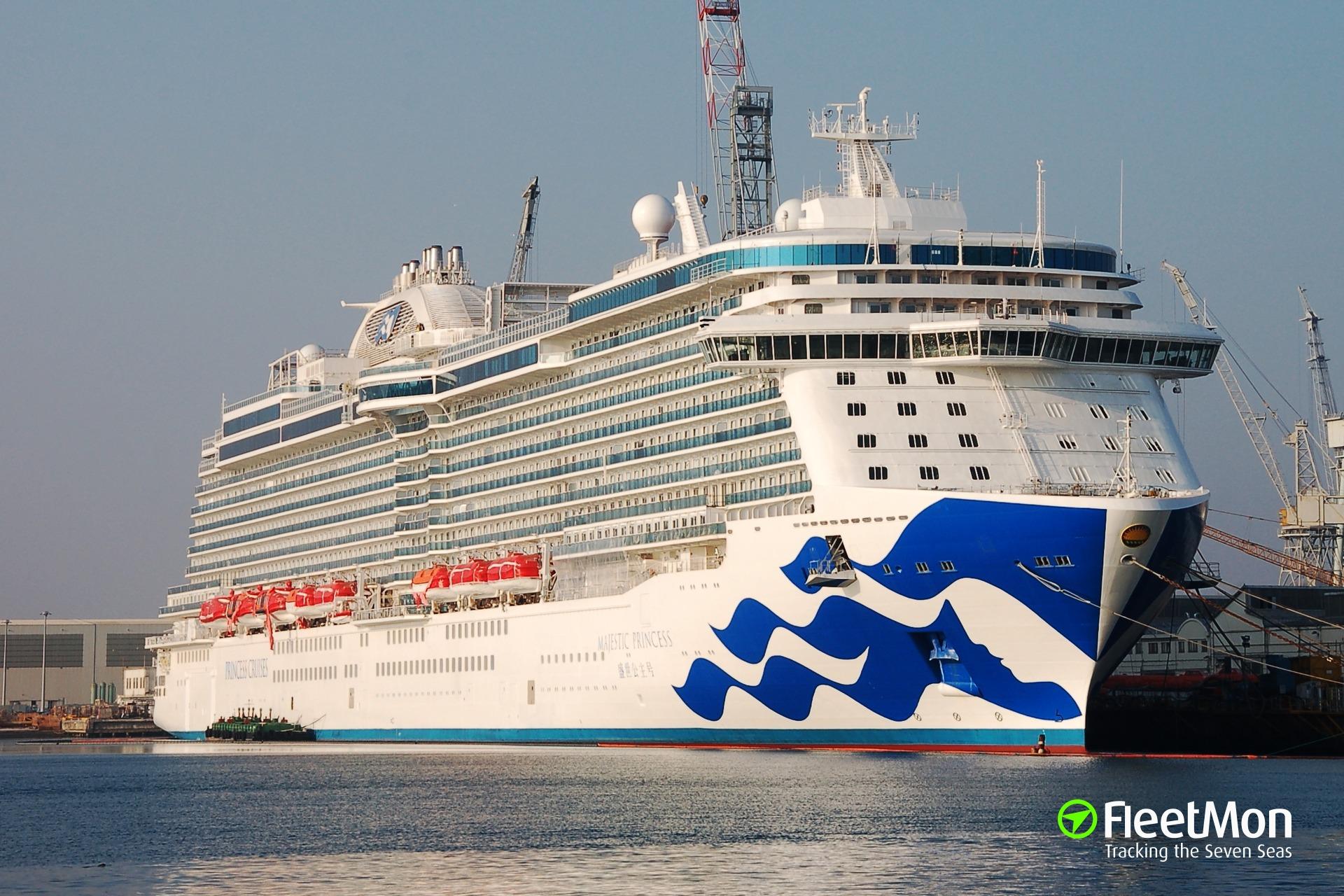 Majestic Princess Passenger Ship Imo 9614141 Princess