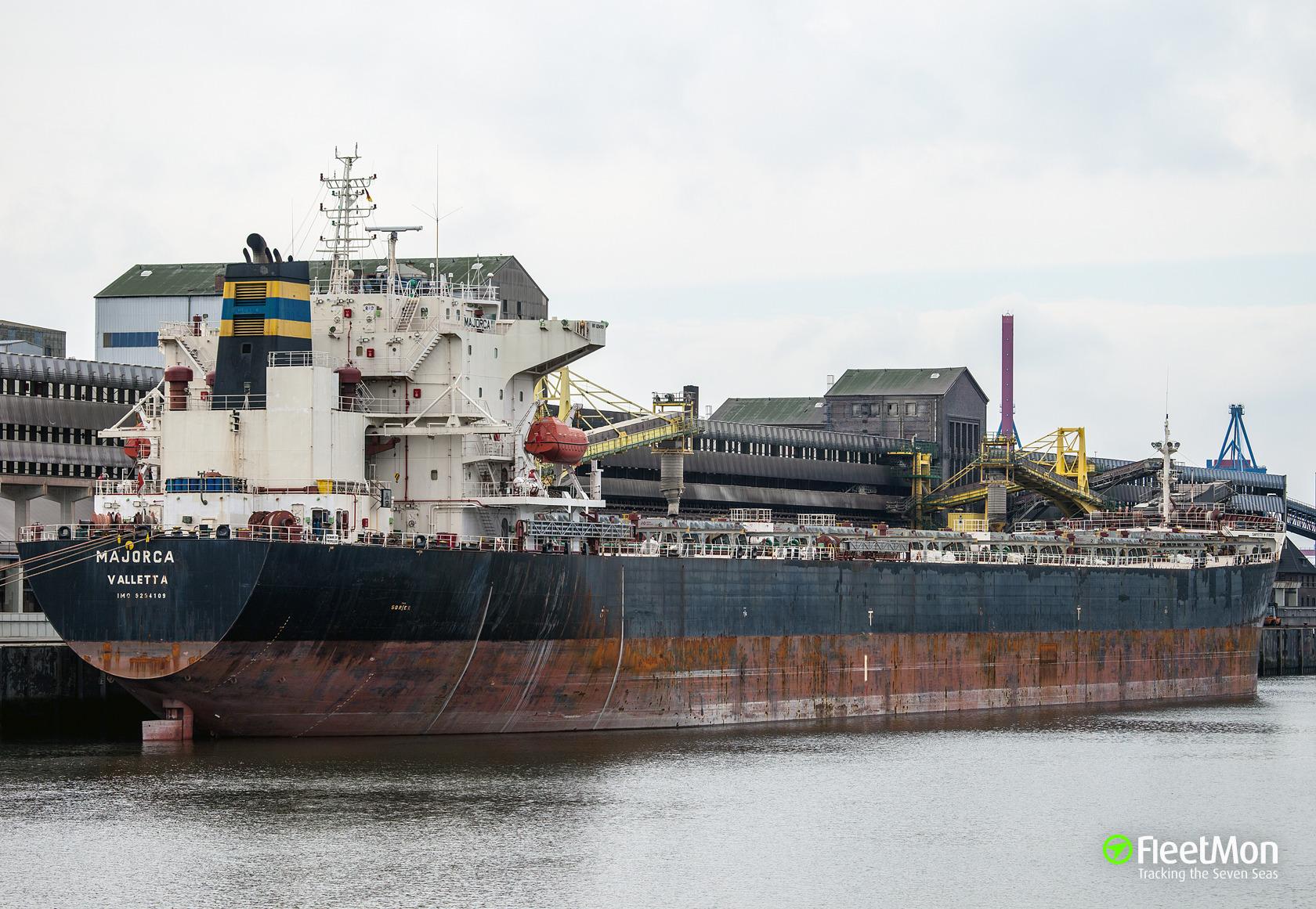 Bulk carrier Majorca medevac